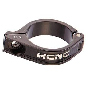 KCNC Front Derailleur Clamp Ø34,9mm 0°, negro